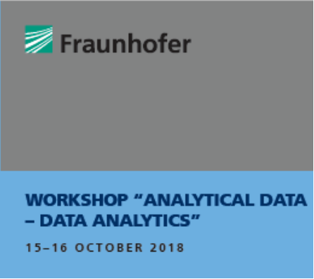 "ScienceDesk @ Fraunhofer ""Analytical Data – Data Analytics"""