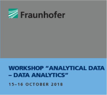 "ScienceDesk @ Fraunhofer ""Analytical Data – Data Analytics"""