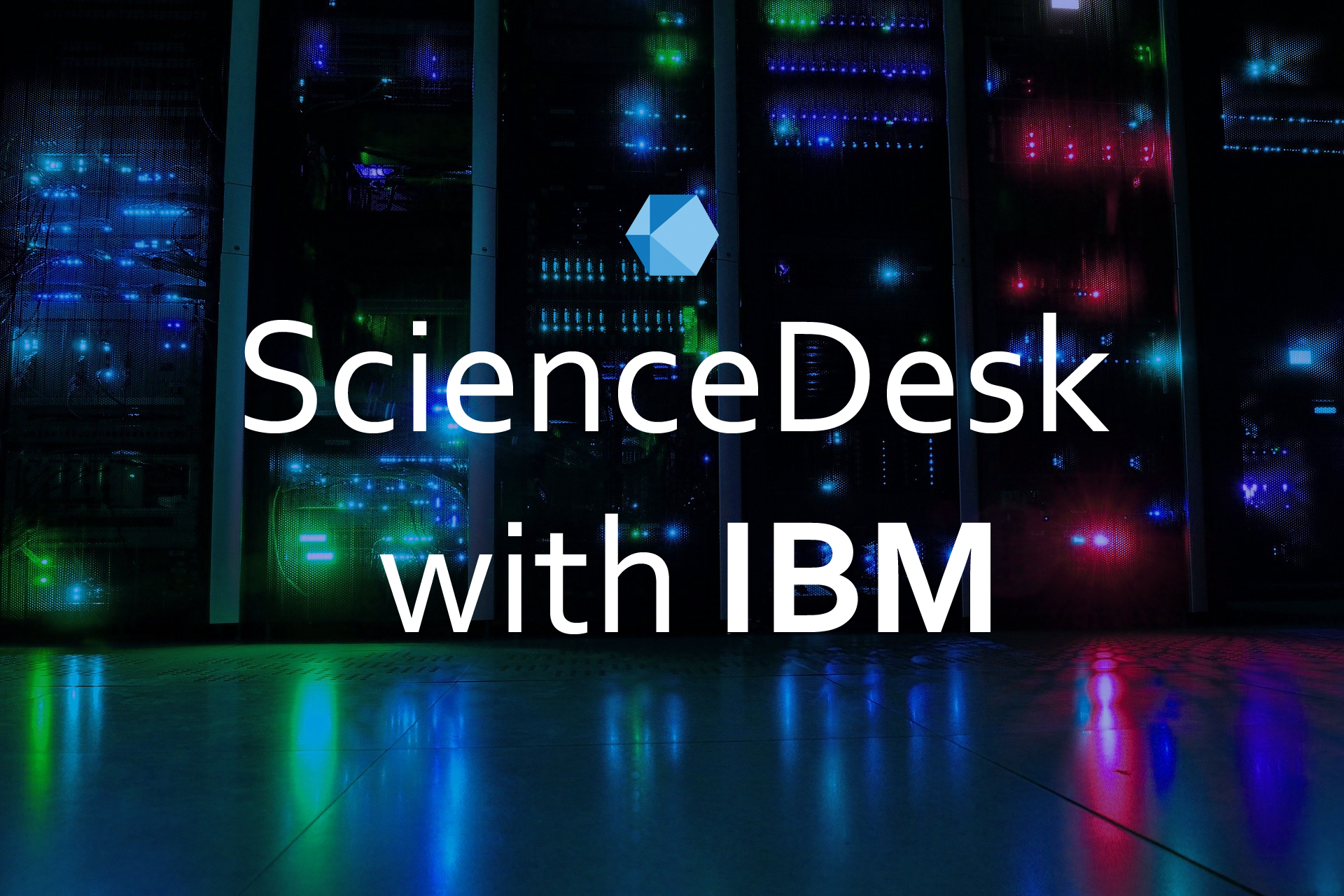 ScienceDesk is selected for 'Startup with IBM' program